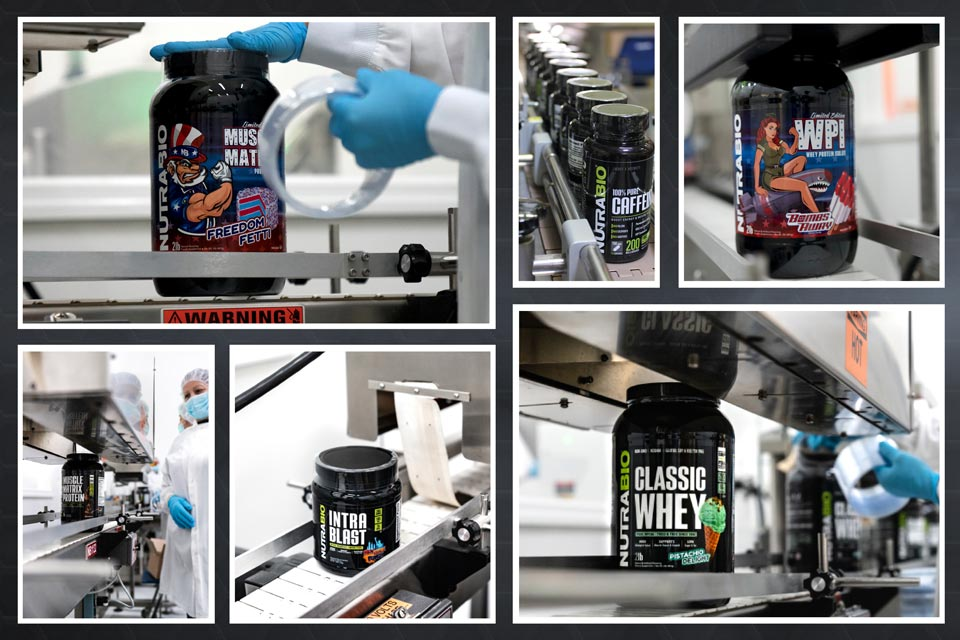 Collage of Factory Photos
