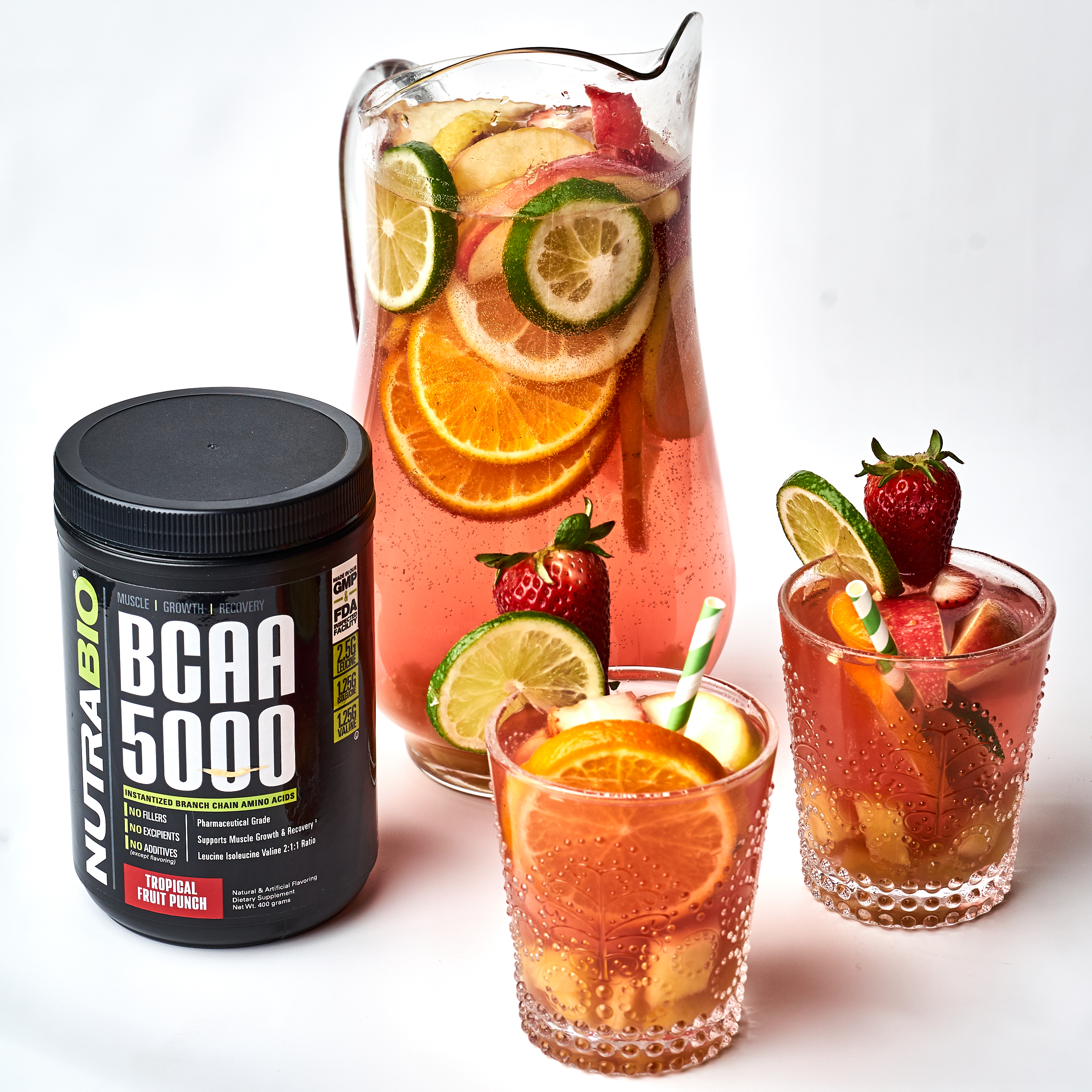 ... Mocktail: Tropical Summer Fruit Sangria - NutraBio BlogNutraBio Blog