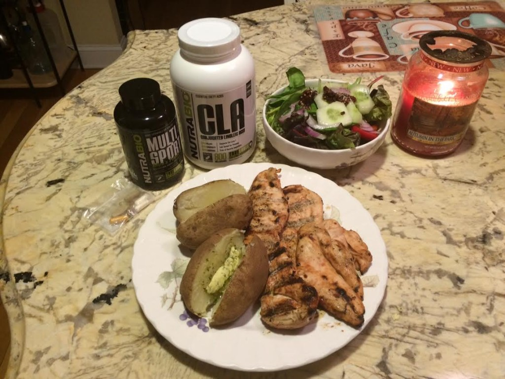 chicken for muscle gains