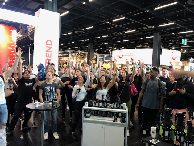 FIBO Power - NutraBio giving away products to some lucky people!