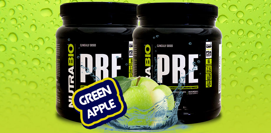 green apple preworkout nutrabio